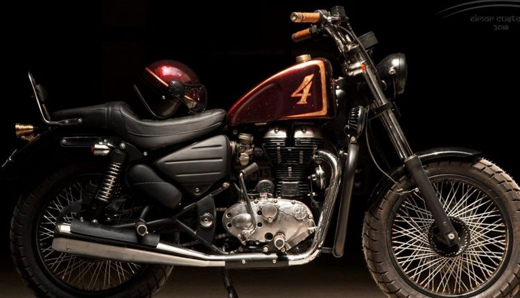 Meet 350cc Royal Enfield Thunderbird Kapidhwaja by EIMOR Customs