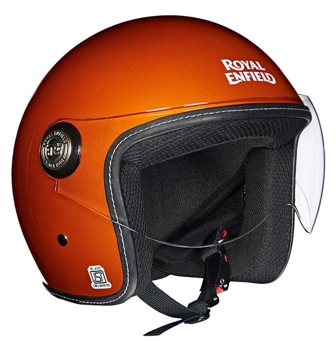 650 TWIN HELMET GLOSS CRUSH ORANGE
