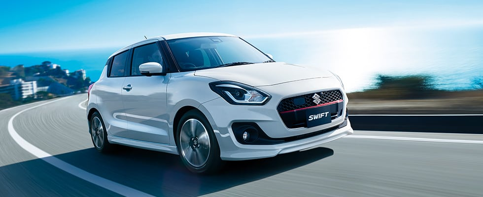 Maruti Suzuki Swift RS White