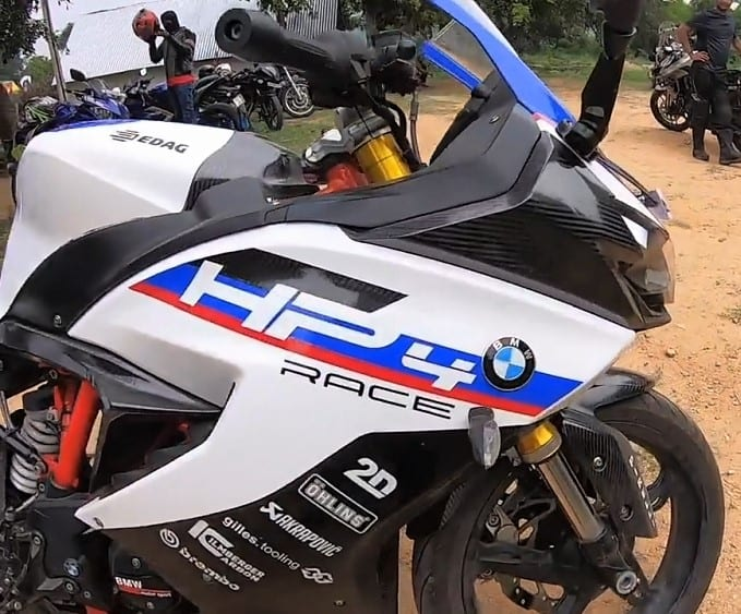 TVS Apache RR 310 HP4 Race Edition
