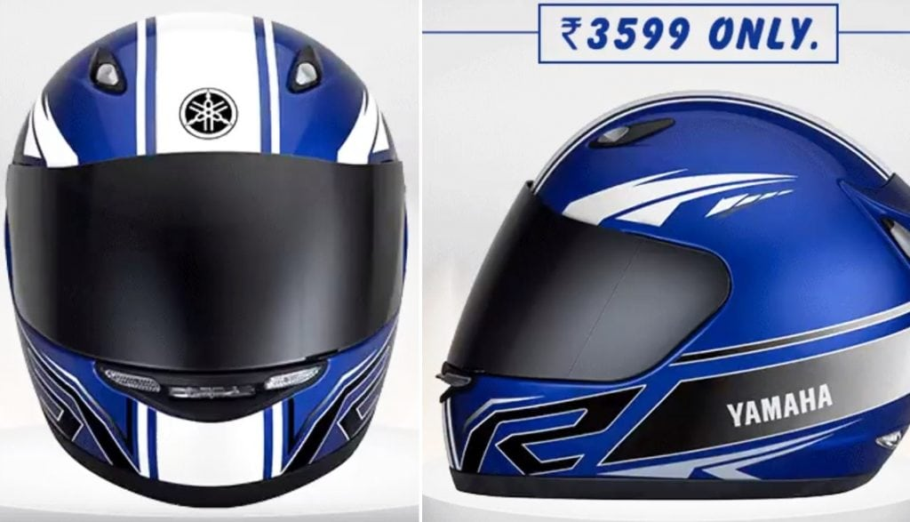 Owners Honda Com >> Yamaha R-Series Helmet Officially Launched in India @ INR 3599