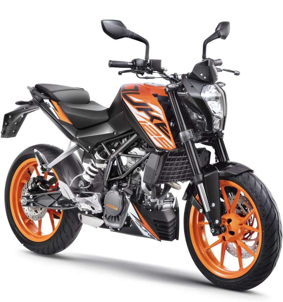 KTM 125 Duke Sales Report