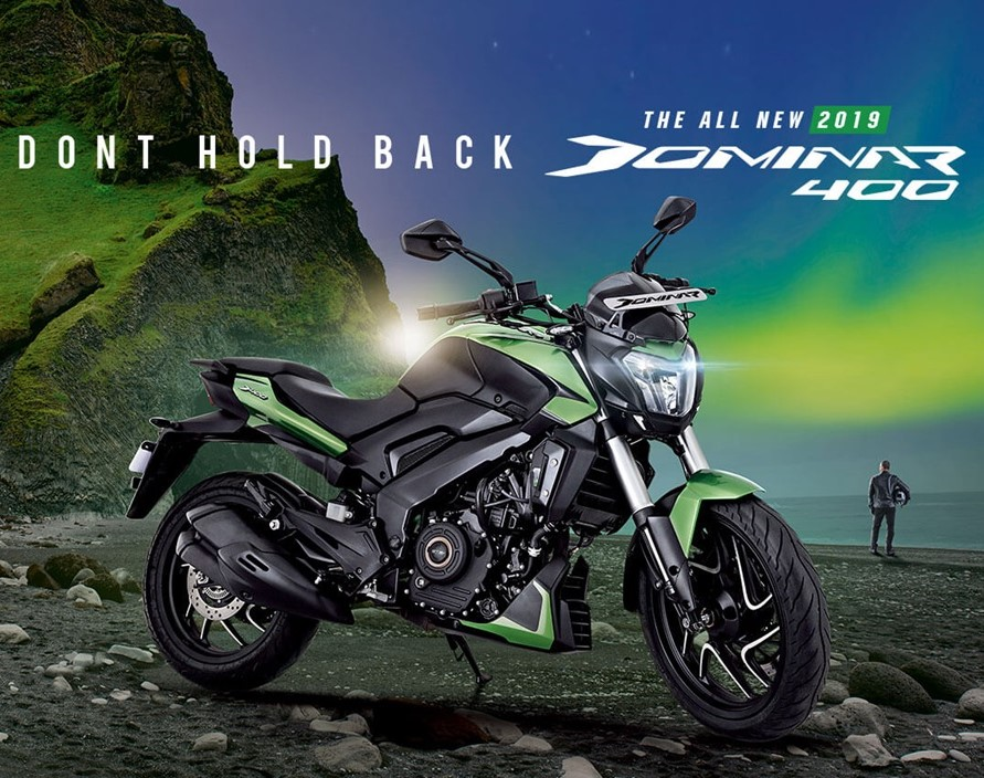 New Bajaj Dominar 400