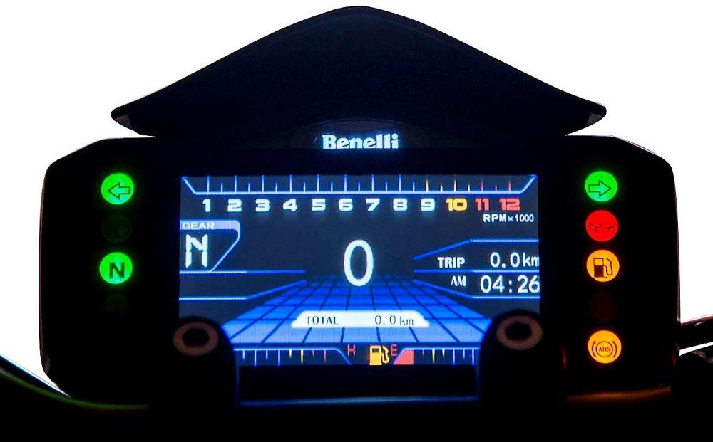 Benelli 752S Instrument Console
