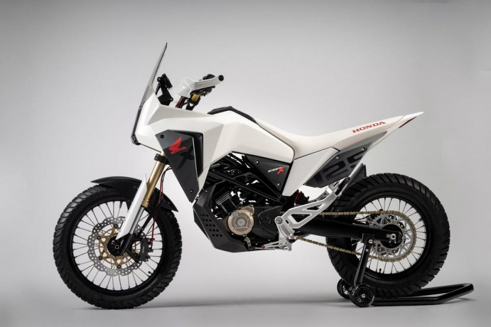 honda cb125m cb125x concept bikes officially revealed