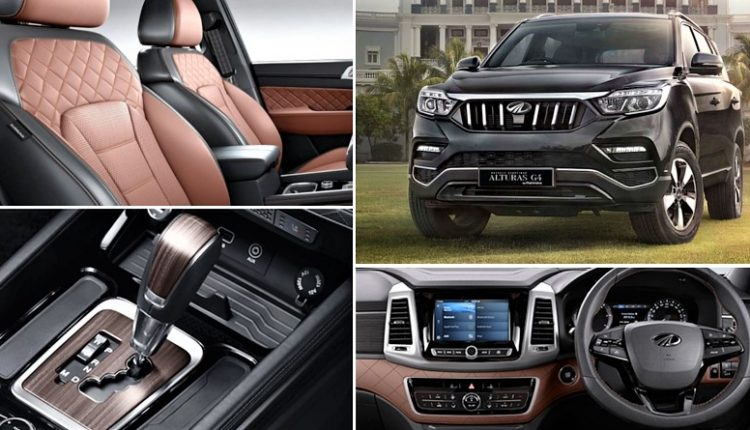 Mahindra Alturas G4 Price List, Mileage, Colors and Variant-Wise Features