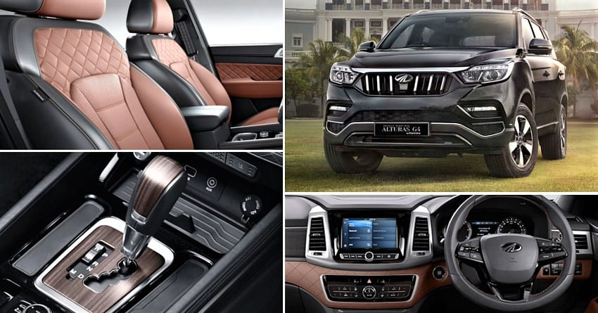Mahindra Alturas G4 Price List Mileage Colors And Variant Wise