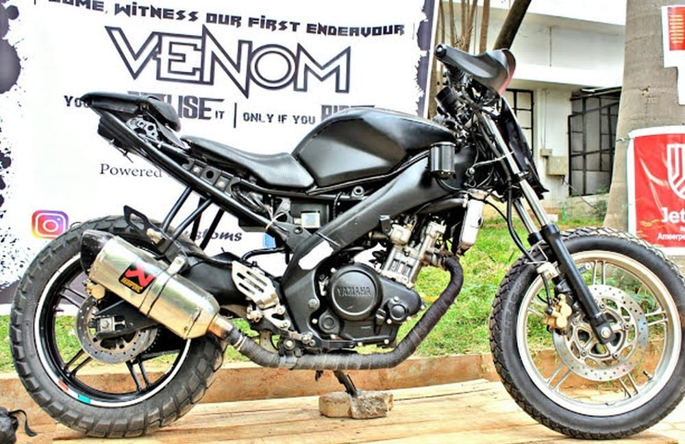 Meet Custom Built Yamaha R15 VENOM by TwentyTwo Customs