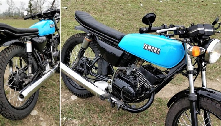 Meet Yamaha RX 135 Cafe Racer by Vedansh Automobile (Dehradun)