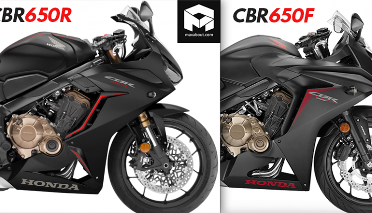 Honda CBR650R vs Honda CBR650F (Quick Comparison)