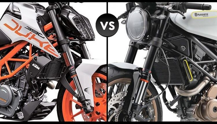 Quick Comparison: KTM 390 Duke vs Husqvarna Vitpilen 401