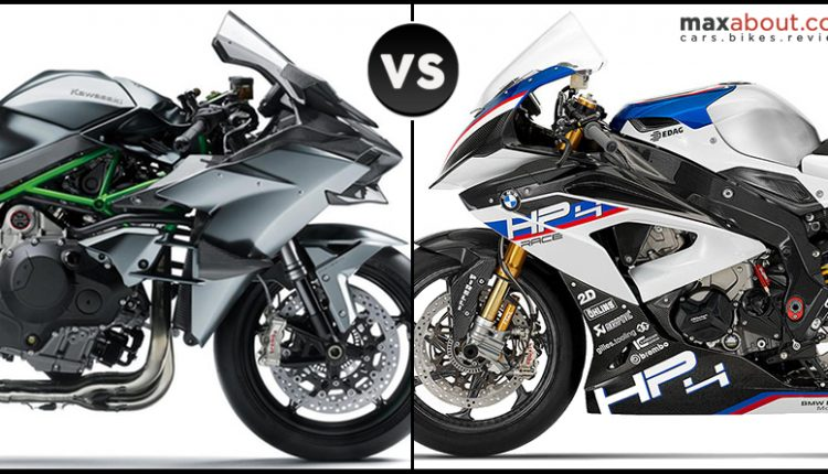 Quick Comparison: Kawasaki Ninja H2R vs BMW HP4 Race
