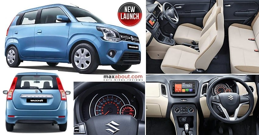 2019 Maruti Wagonr Price List Specs Mileage Colors And Features
