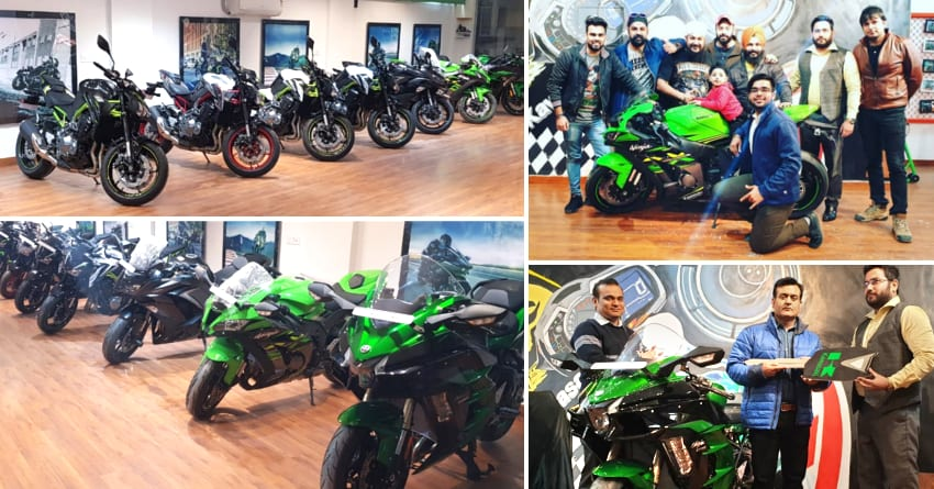 Aurum Kawasaki Delivers 7 Superbikes Including The Mighty Ninja H2 Sx