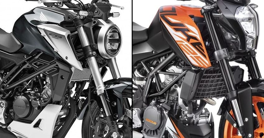 New Honda CB125R vs KTM Duke 125