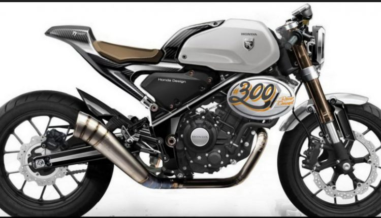 Honda CB300 TT Cafe Racer to Launch in India Next Year