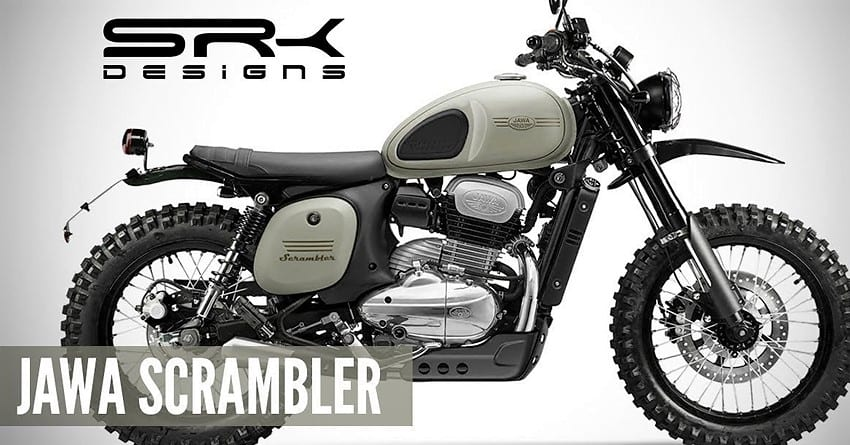 Meet Jawa 42 Scrambler Concept By Srk Designs