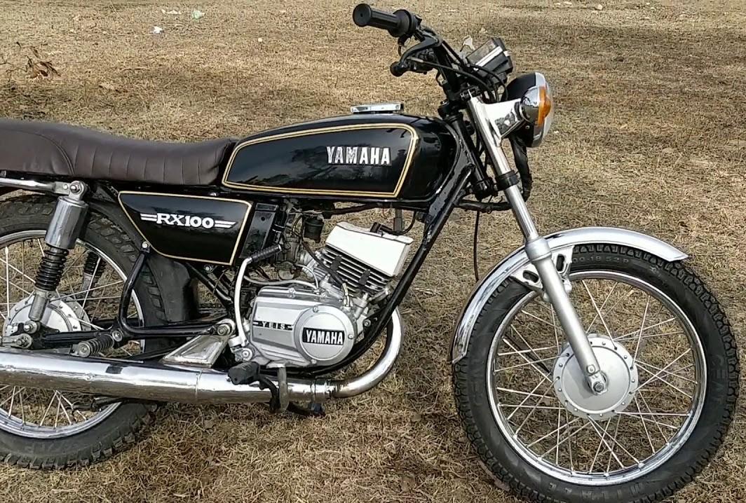 Restored Black Yamaha RX 100