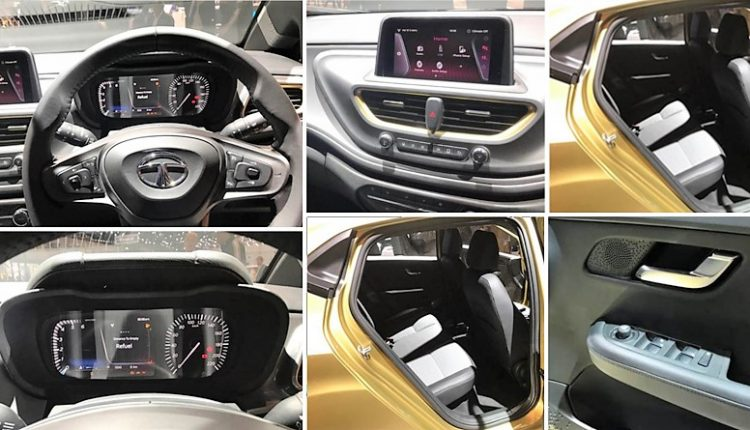 Tata Altroz Interior Fully Revealed in a New Set of Photos