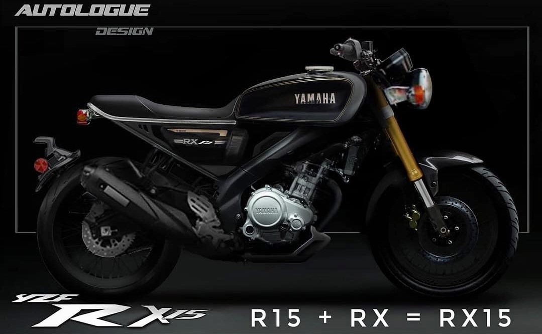 Meet Yamaha RX15 Concept by Autologue Design