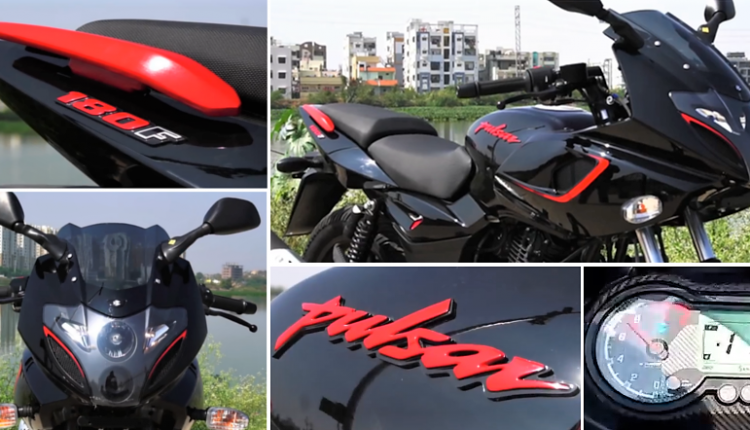 2019 Bajaj Pulsar 180F Video Review by Dino's Vault