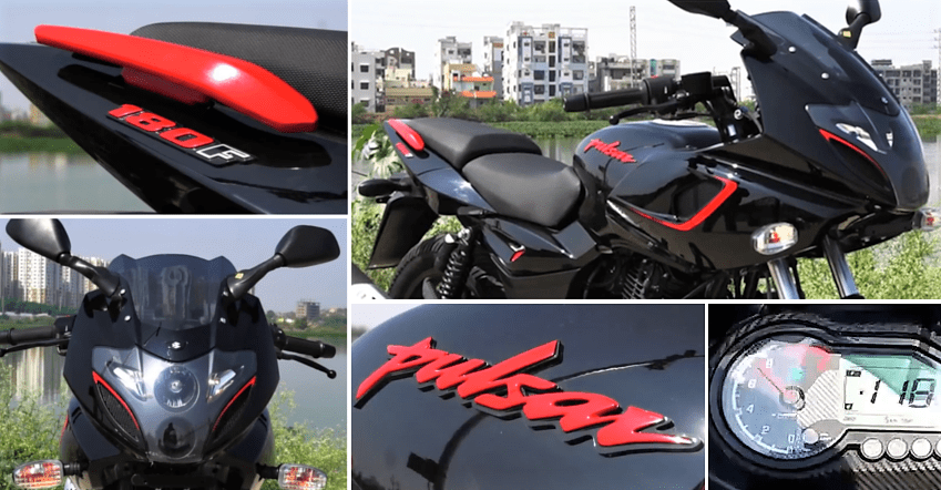 Bajaj Pulsar 180F Video Review