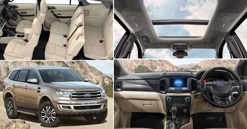 2019 Ford Endeavour Launched in India @ INR 28 19 Lakh
