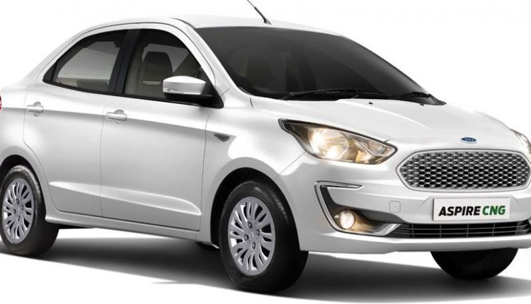 Ford Aspire CNG Launched in India @ INR 6.27 Lakh