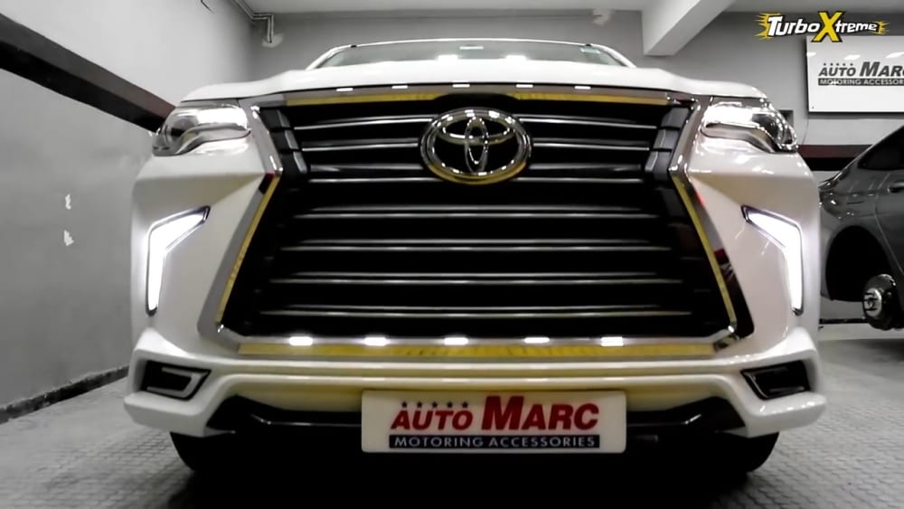 Meet Modified Toyota Fortuner With Lexus LX570-Inspired ...