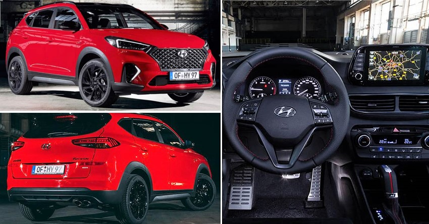 2019 Hyundai Tucson N Line Suv Officially Revealed