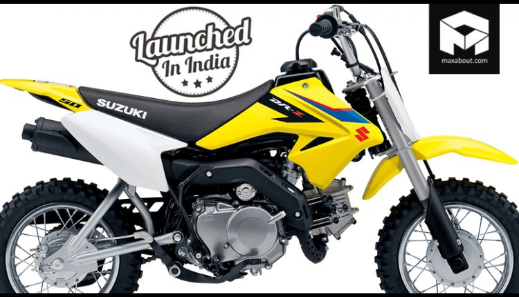 2019 Suzuki DR-Z50 Launched in India @ INR 2.55 Lakh
