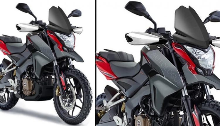 Meet Bajaj Pulsar NS200 Adventure Edition by Autologue Design