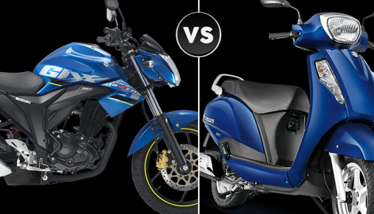 Sales Report: Suzuki Motorcycles vs Scooters (February 2019)
