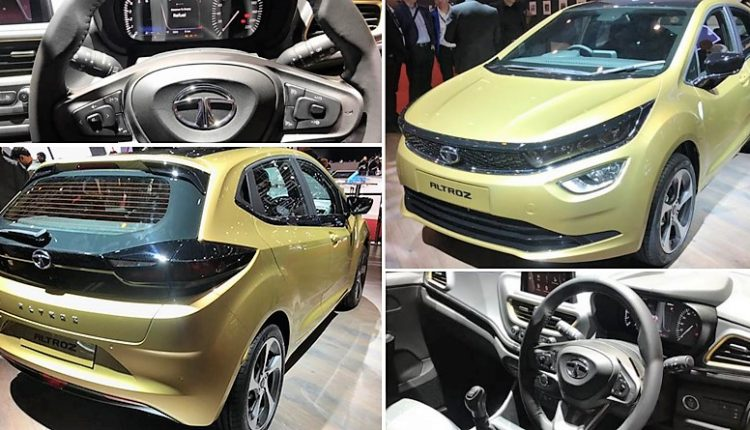 Tata Altroz Premium Hatchback Officially Revealed