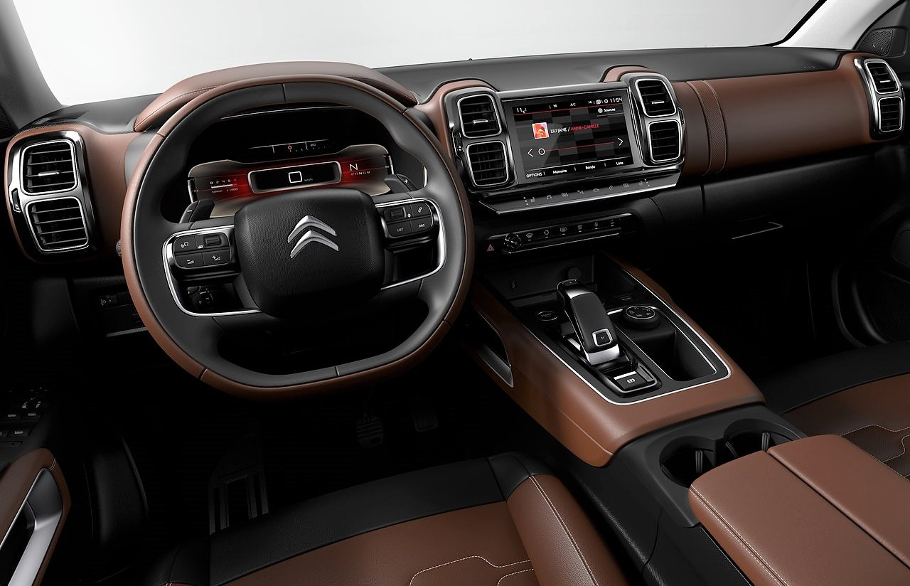 Citroen C5 Aircross Dashboard