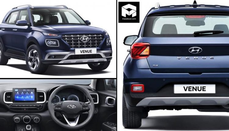 Hyundai Venue Compact SUV Officially Revealed in India
