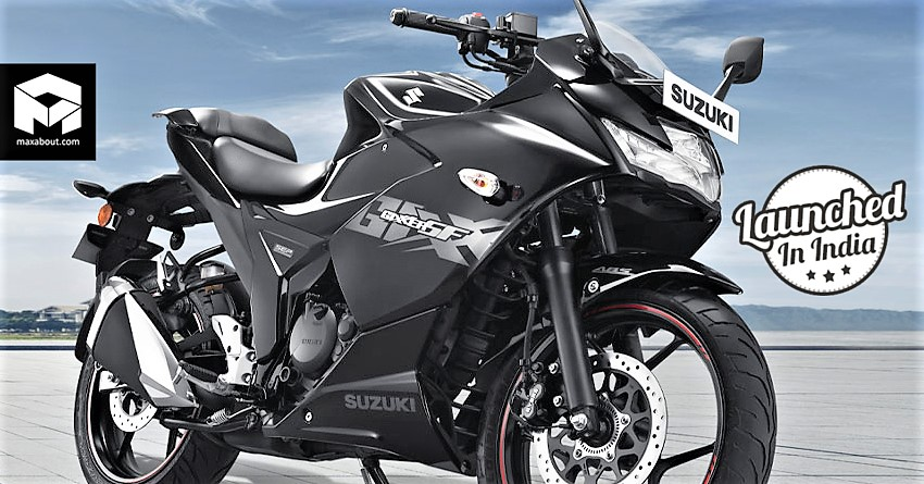 2019 Suzuki Gixxer SF 150 Launched in India at INR 1 10 Lakh