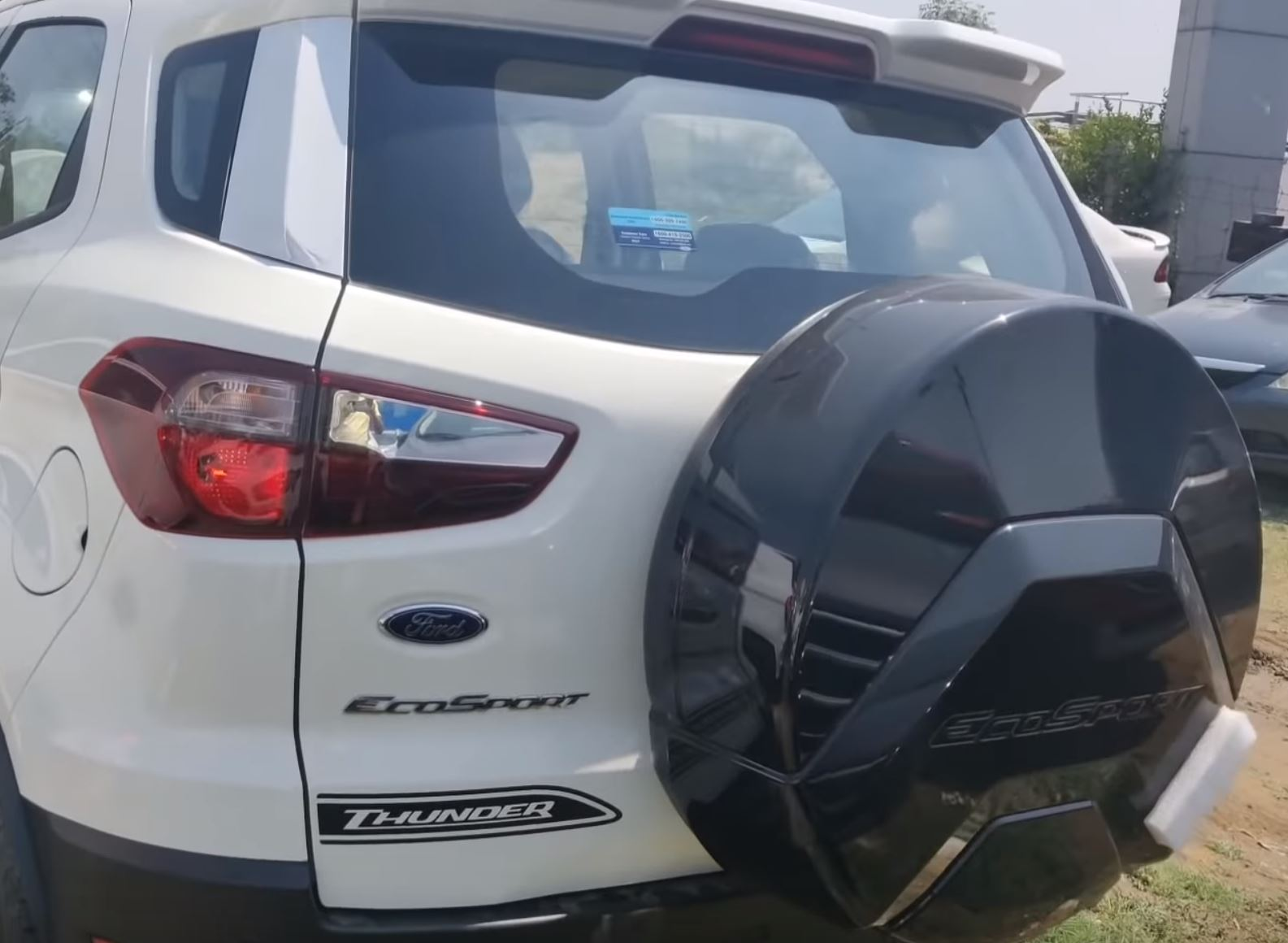 Ford Ecosport Thunder Spotted In A New Set Of Photos