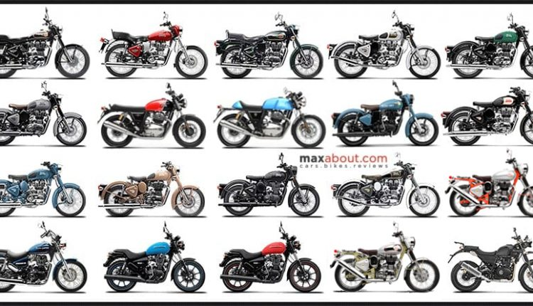Latest Royal Enfield Motorcycles On-Road Price List