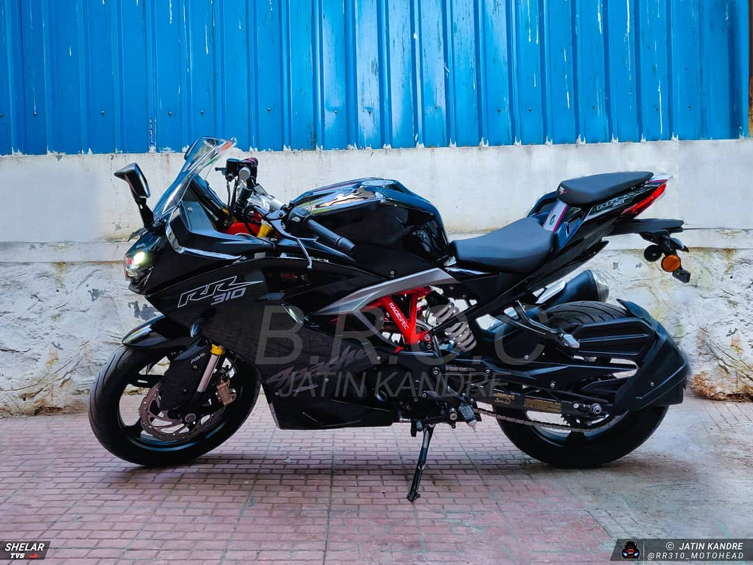 2019 Apache RR 310 Side View
