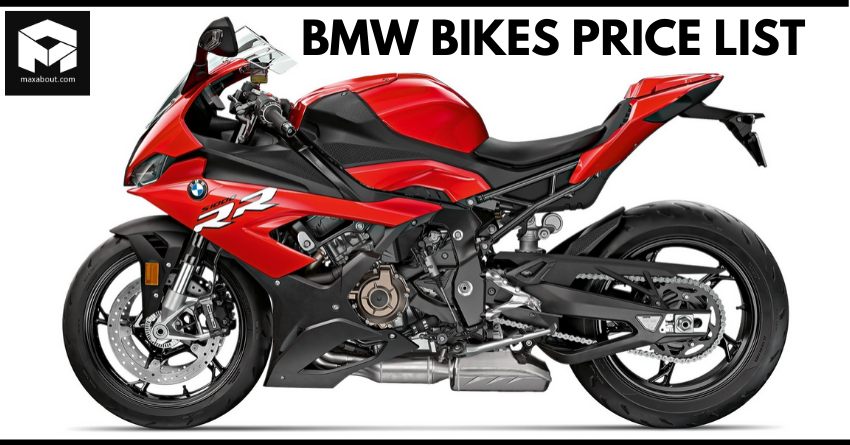 2020 Price List of Latest BMW Bikes