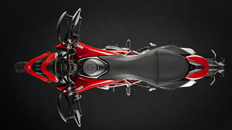 Ducati Hypermotard 950 Top View