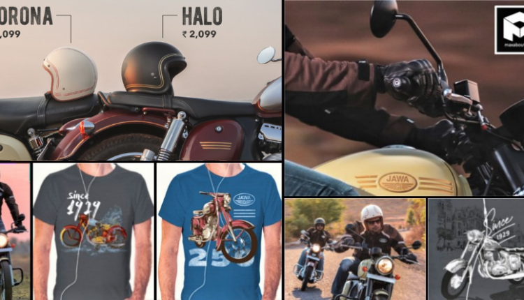 Official Price List of Jawa Helmets and Riding Gear in India