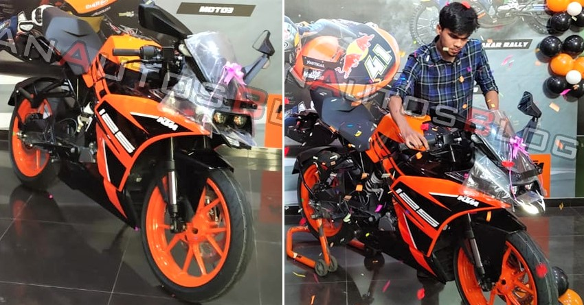 KTM RC 125, RC 200 & RC 390 New Colours Launched In India