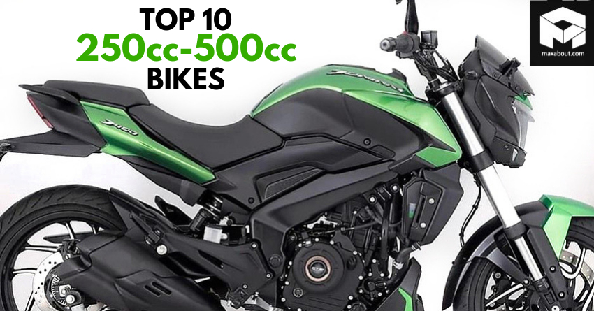 Top 10 Best-Selling 250cc-500cc Bikes