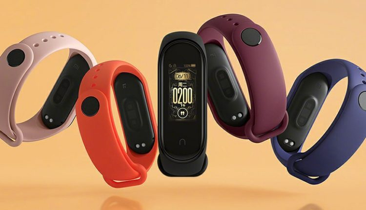 Xiaomi Mi Band 4 Officially Announced for 169 Yuan (INR 1700)