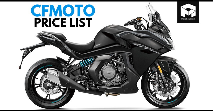 CFMoto Motorcycles Price List