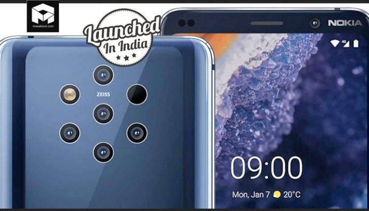 Nokia 9 PureView Officially Launched in India @ 49,999