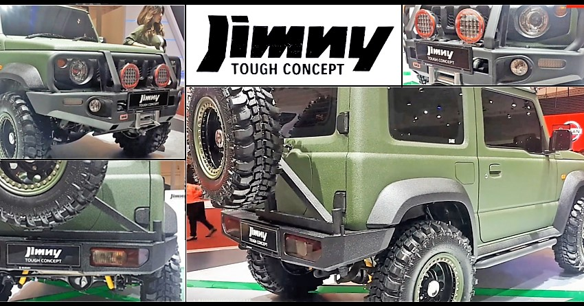Meet Suzuki Jimny Tough Concept with Komodo Extreme Off-Road