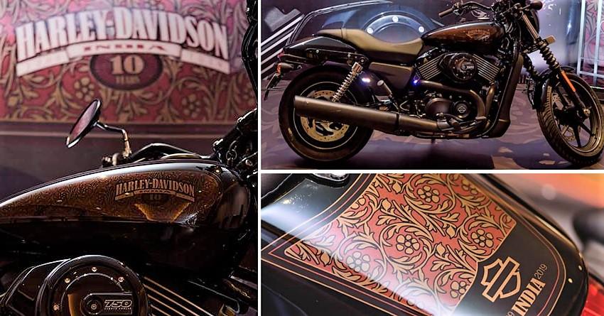 BS6 Harley-Davidson Street 750 Limited Edition
